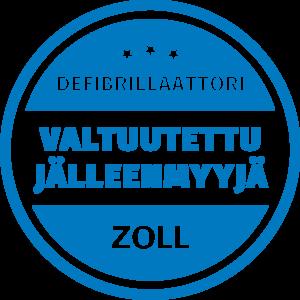 Zoll AED plus defibrillaattori jalleenmyyja